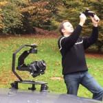 リモートコントロールするカメラスタビライザー 『BeeWorks 5』