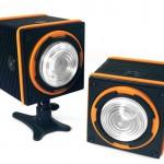 フラッシュ可能なコンパクトLEDバッテリーライト IC12 「LED Light Cube」