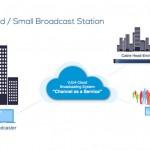 """クラウドベースの放送送出システム VJU """"Channel as a Service"""""""
