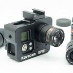 "GoPro 3/3+ BlackをCマウントレンズ交換仕様にする改造パーツ Kovacam ""GP01"""
