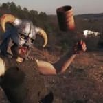 """ゲームキャラVFX映像化動画 AndrewMfilms """"Fallout vs Skyrim"""""""