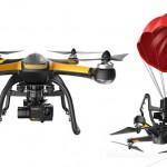 緊急用パラシュート付きHD撮影ドローン Hubsan X4 Pro