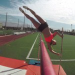 GoProの棒高跳び動画 Pole Vaulting with Allison Stokke
