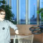 Sony SmartEyeglass と SmartWatch 2 で Parrot AR.Drone 2.0 をコントロール動画