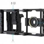 レンズマウント付スマートフォン用カメラリグ Beastgrip Pro