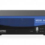 ポータブルな HEVC ハードウェアエンコーダー Vitec MGW ACE