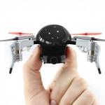 720pカメラ搭載の小型なクアッドコプター Micro Drone 3.0