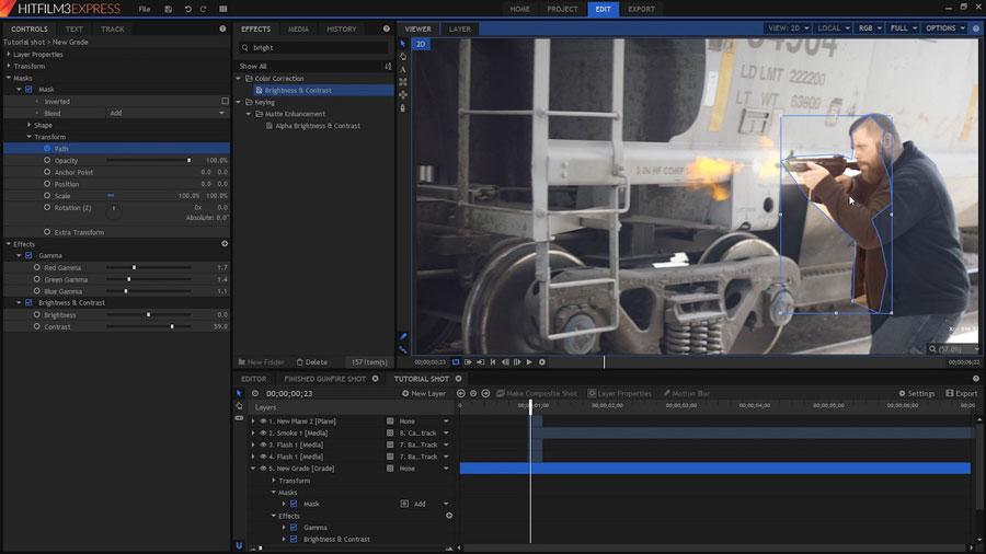 hitfilm3express_GUI