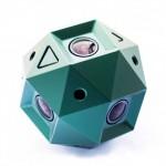 1台で4K 360°全天球撮影が可能なカメラ Sphericam 2