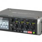 6インプット/8トラック同時録音可能なフィールドレコーダー ZOOM F4